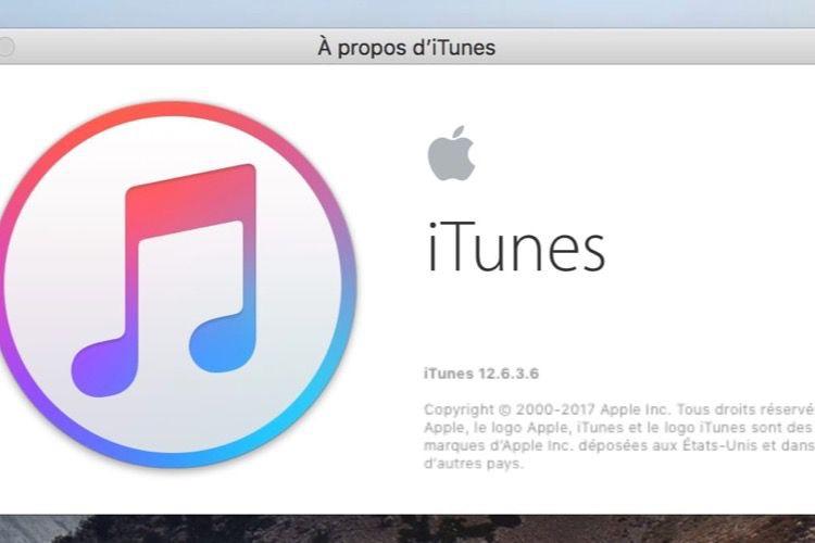 La version d'iTunes avec l'App Store ne fonctionne pas sous macOSMojave