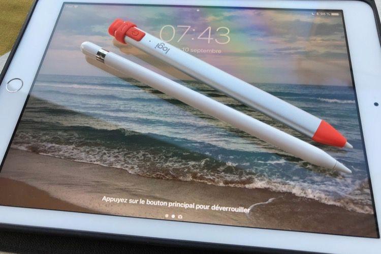 Test du Logitech Crayon pour iPad