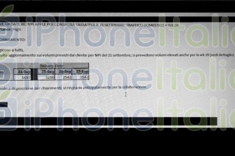L'Italie recevra des produits Apple en volume à partir du 21septembre