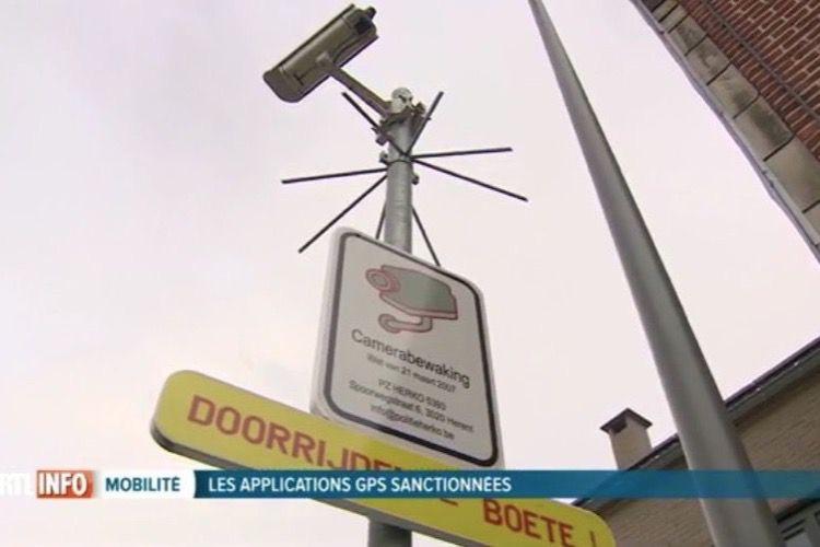 Des communes belges luttent contre les apps de GPS à coup d'amendes