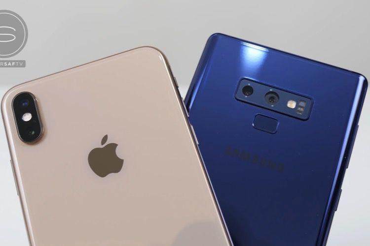 Photo et vidéo : iPhoneXSMax contre Galaxy Note 9