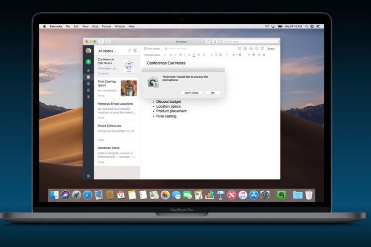 macOS Mojave : la version finale sera disponible le 24 septembre