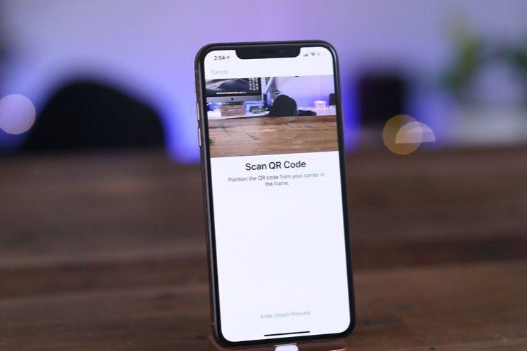 iOS12.1 activera la carte eSIM des nouveaux iPhone