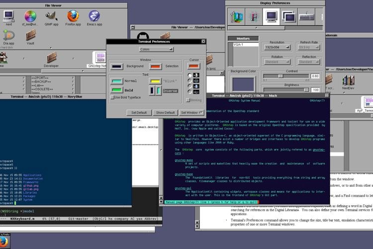 NEXTSPACE ressuscite l'interface de NeXTSTEP sur Linux