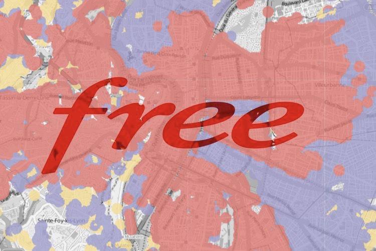 Free publie une carte d'éligibilité à la fibre optique