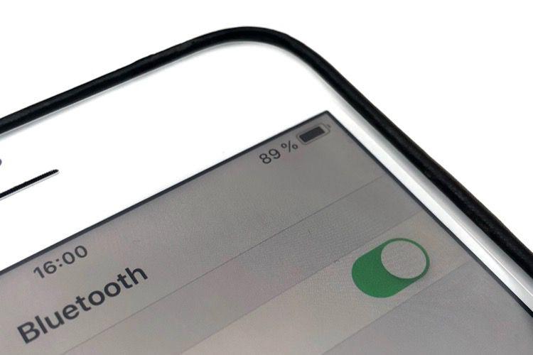 iOS12 masque le Bluetooth dans la barre de statut