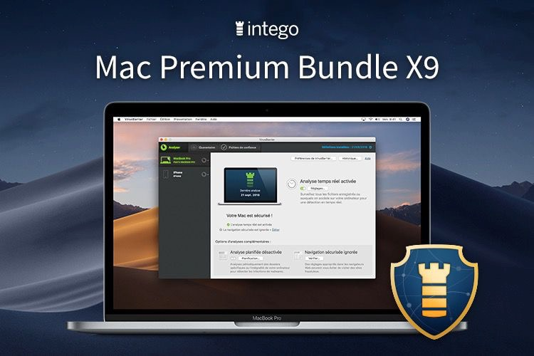 Mac Premium Bundle X9 : LA solution pour rendre son Mac plus sûr