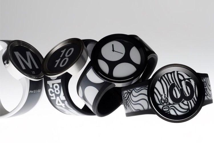 Sony FESU : une montre à écran et bracelet E-Ink