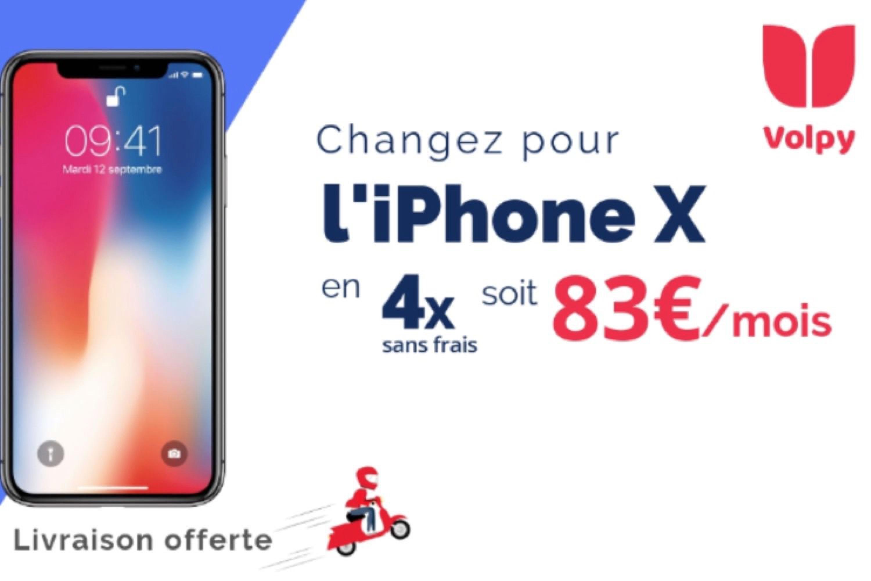Volpy : changez d'iPhone sans vous ruiner