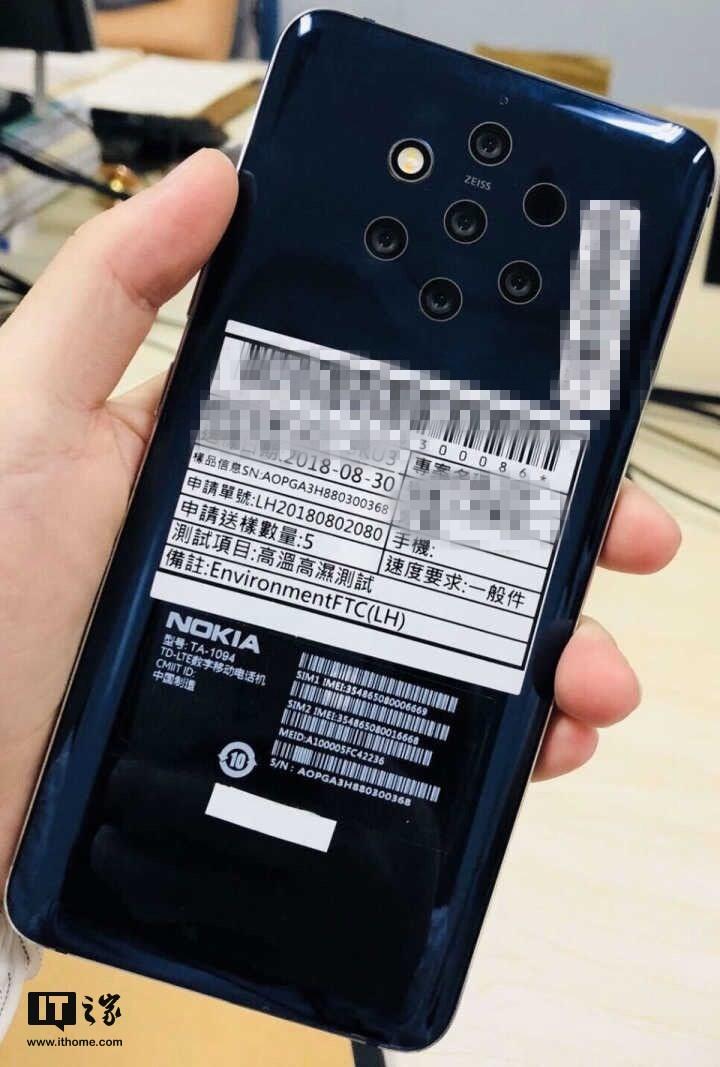 Un Nokia Zeiss constellé de capteurs photos