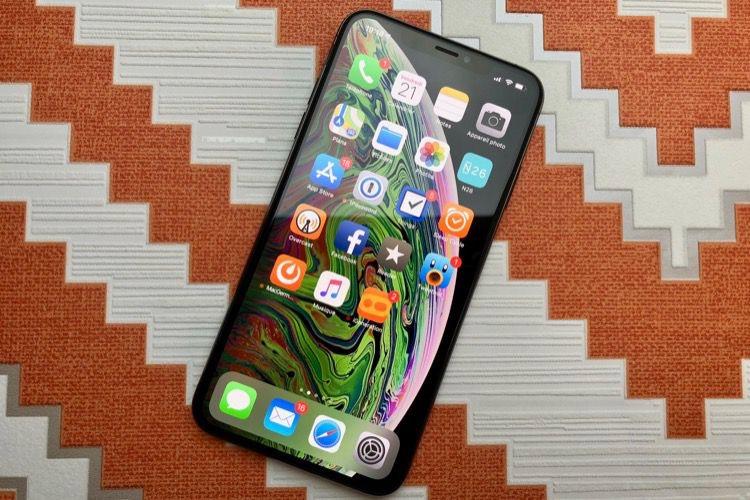 Prise en main de l'iPhoneXSMax