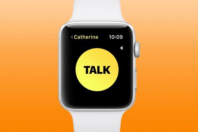 Astuce watchOS5 : comment afficher l'app Talkie-Walkie si vous ne la voyez pas?