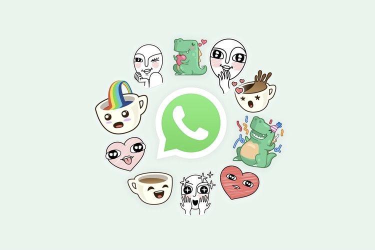WhatsApp ajoute à son tour des autocollants, avec le même modèle qu'Apple