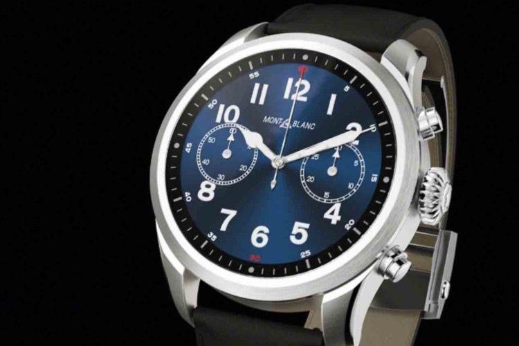 Summit 2 : la première montre Montblanc avec le nouveau Snapdragon Wear 3100
