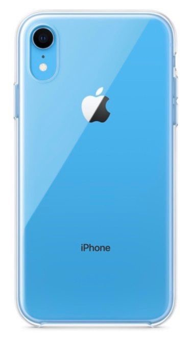 coque xr iphone bleu