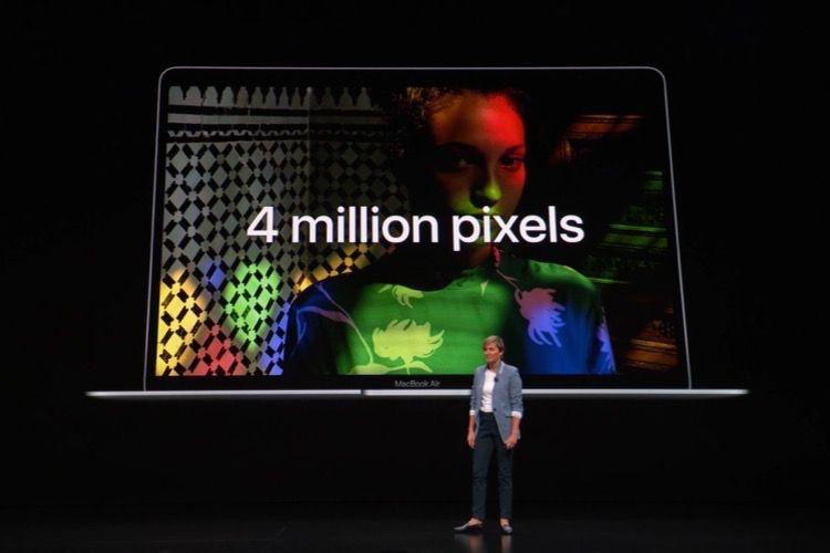 Le MacBook Air Retina n'a pas vraiment quatre fois plus de pixels