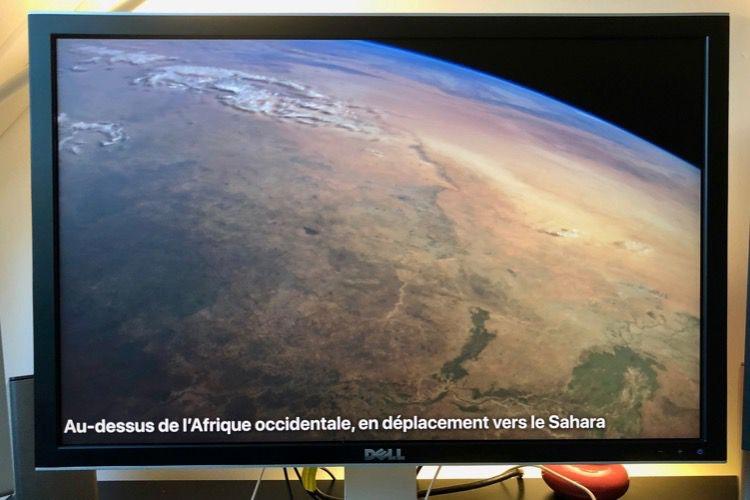 Aerial affiche les économiseurs d'écran de tvOS12 sur Mac