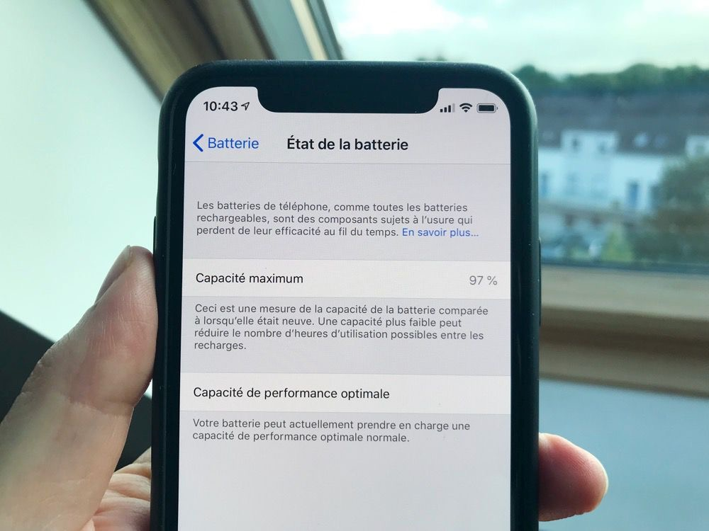 La Batterie De Nos Iphone X Un An Après Igeneration