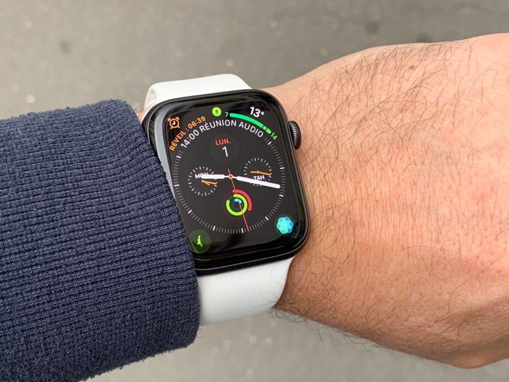 df3d38c29c8415 Ce coup d arrêt dans les possibilités de mise à jour de watchOS ne fait pas  de cette montre un objet obsolète. Une Series 0, en 2018, reste un  accessoire ...