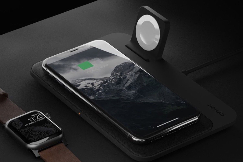 Chez Nomad, une élégante base de recharge pour l'iPhone et l'Apple Watch