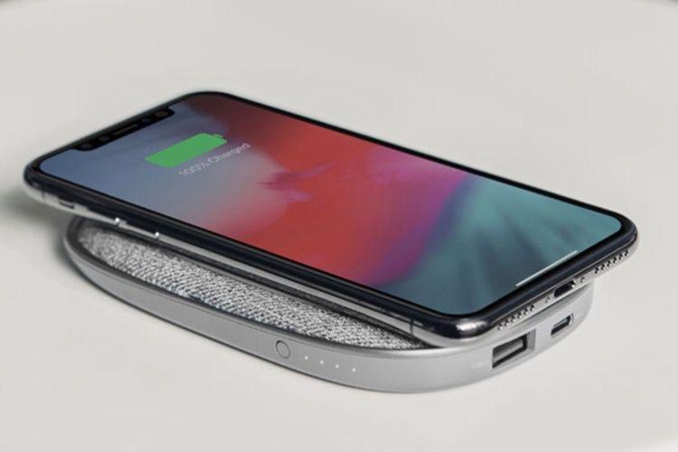 PortoQ 5K : un tout-en-un batterie et chargeur sans fil chez Moshi