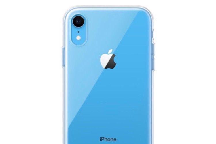 Un étui transparent signé Apple pour l'iPhoneXR