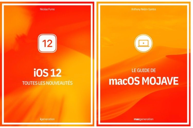 Fin imminente de la promotion de nos livres sur iOS 12 et macOS Mojave