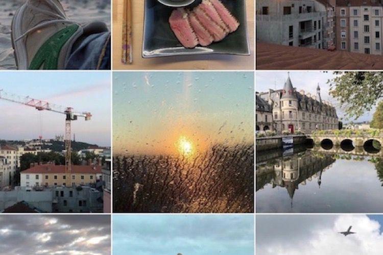 Instagram profite de l'écran des iPhoneXSMax