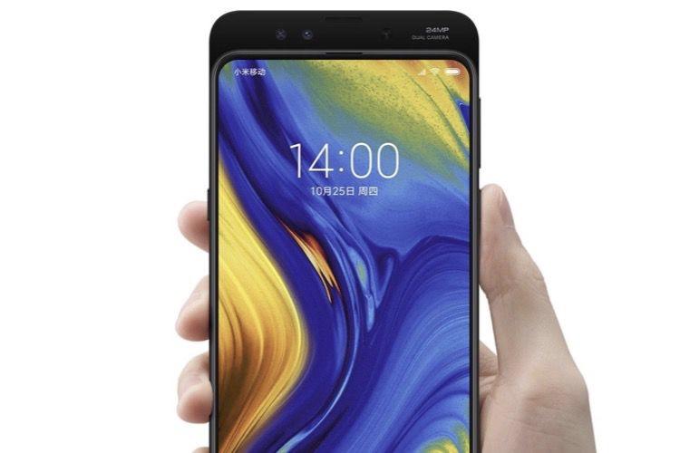 Xiaomi présente à son tour un smartphone sans bordure, ni encoche, mais avec un tiroir