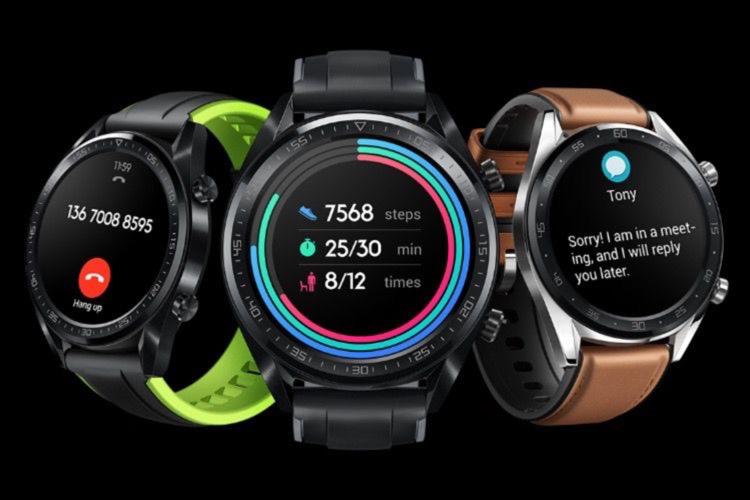 Un bracelet et une intrigante montre connectée chez Huawei