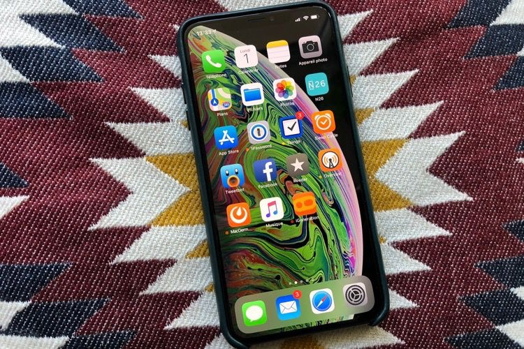 Test de l'iPhone XS Max