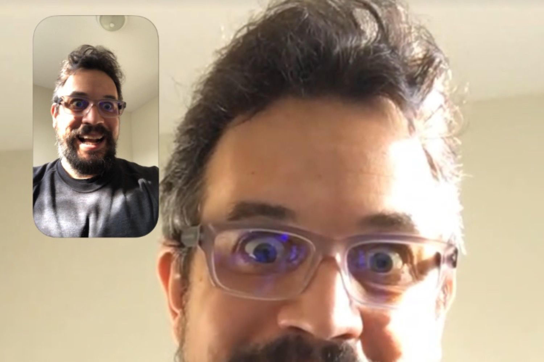 Avec iOS 12.1.1, FaceTime retrouve son bouton Retourner et ses Live Photos