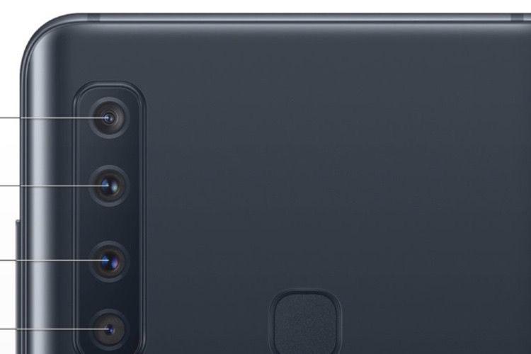 Samsung : pas un, pas deux, pas trois, mais quatre appareils photo au dos de l'A9 !
