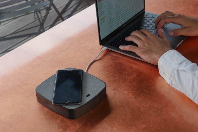 X-Moove Energy Station, un pavé de recharge avec et sans fil pour MacBook, iPhoneetSwitch