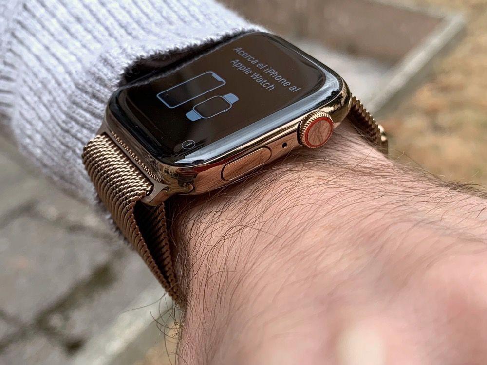 la meilleure attitude 00901 59e63 Prise en main de l'Apple Watch Series 4 avec bracelet ...