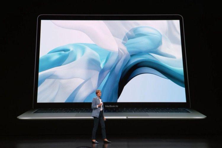 Le nouveau MacBook Air a un écran Retina, Touch ID et du Thunderbolt3
