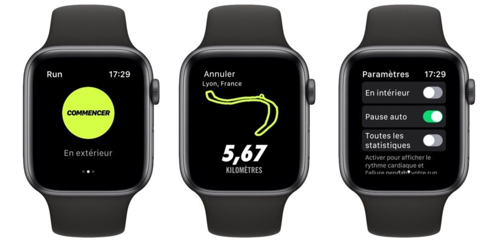 Nike+ Run Club adapte son interface au grand écran de l