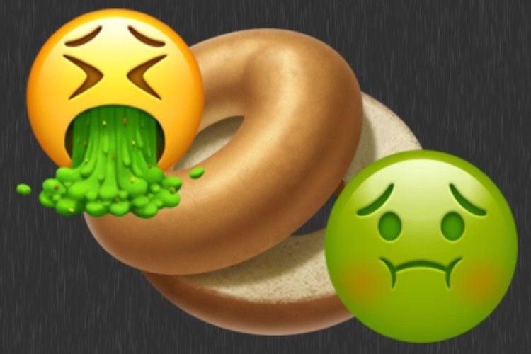 L'émoji bagel d'iOS 12.1 est beaucoup plus appétissant 🤤