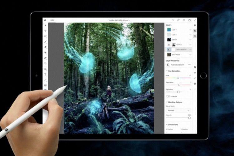 Le «vrai» Photoshop arrivera sur iPad en 2019