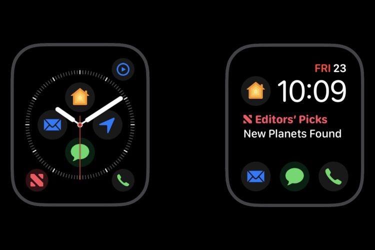 watchOS 5.1.1 dévoile en avance de nouvelles complications pour les cadrans Infographe