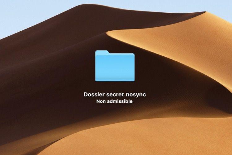 Astuce : empêcher un fichier ou un dossier de synchroniser avec iCloud
