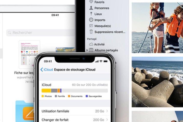 Les cartes cadeau d'Apple marchent aussi pour un abonnement iCloud