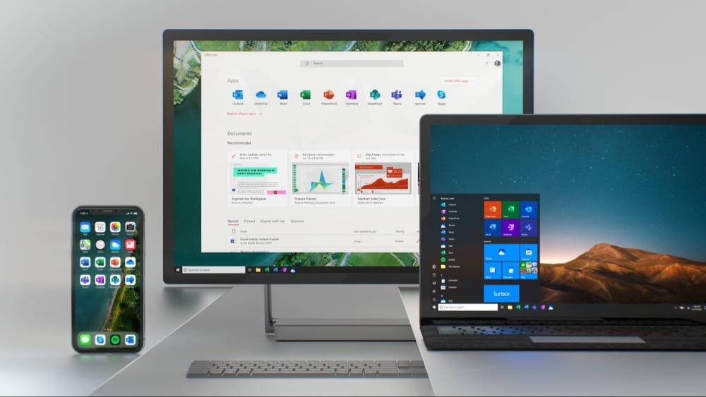 Nouveau look pour les icônes des applications Office