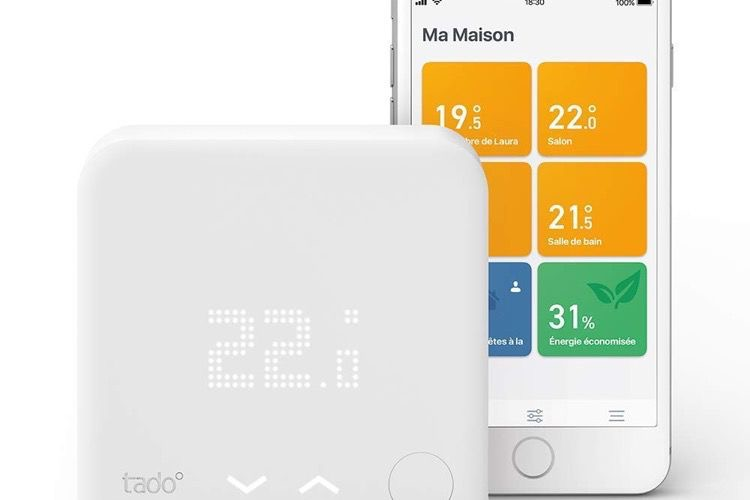 Promo : le thermostat Tado compatible HomeKit à 169 €