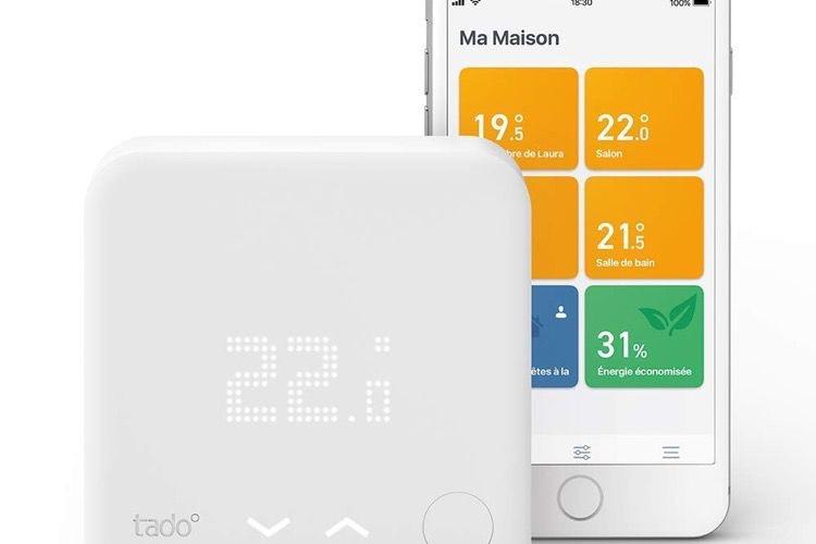 Promo: le thermostat Tado compatible HomeKit à 169€