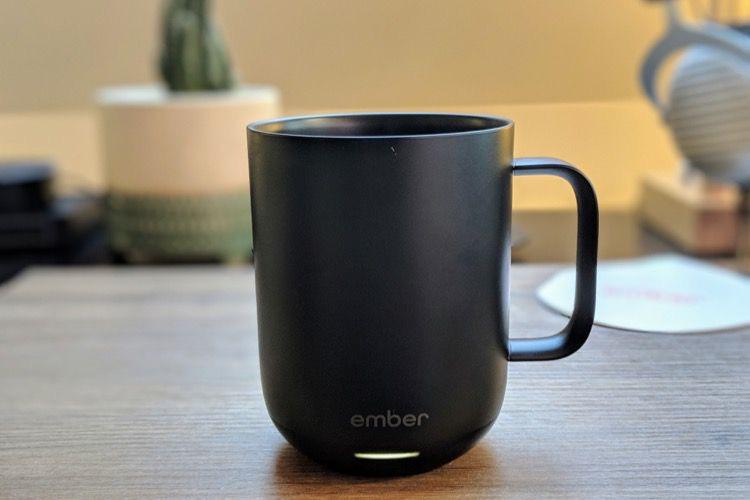 Test d'Ember, une tasse connectée qui maintient votre boisson au chaud