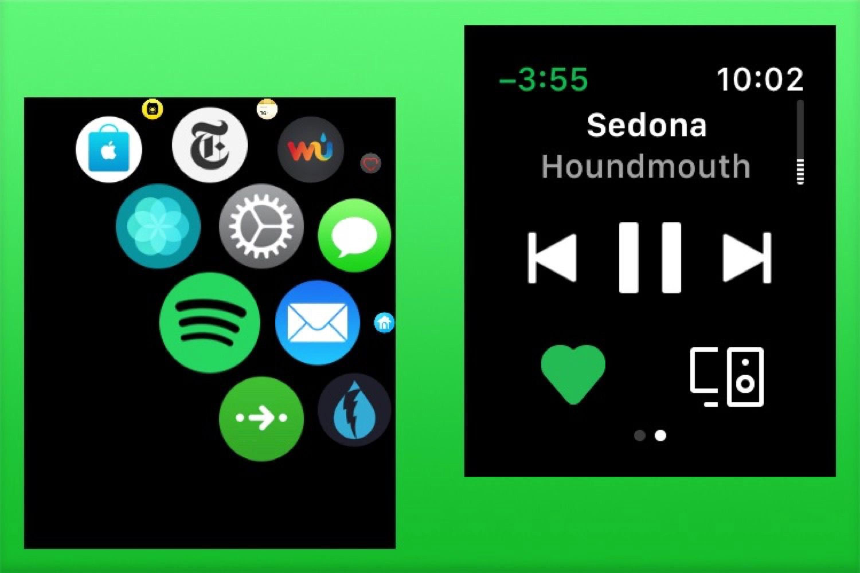 Spotify distribue une première bêta de son app pour Apple Watch