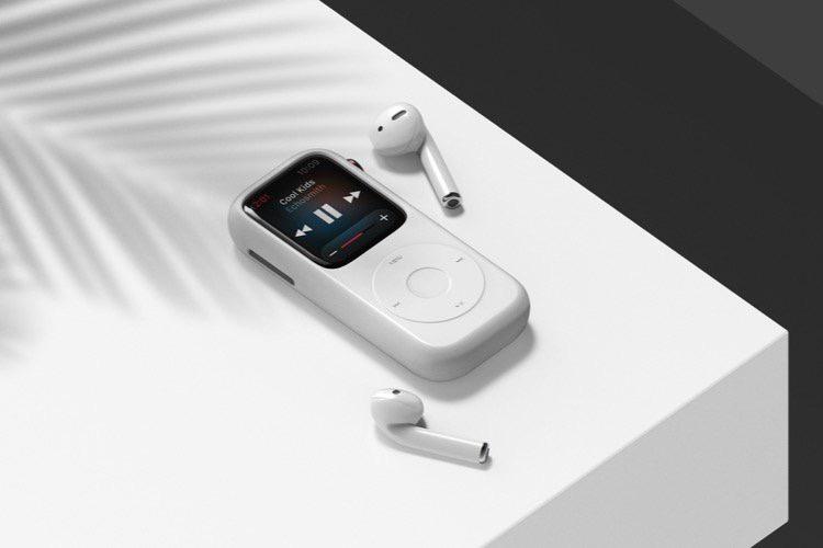 Avec cet étui, l'Apple Watch est un iPod comme un autre
