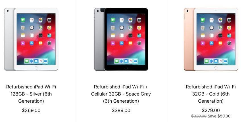 Refurb : l'iPad 6 2018 approche, Apple TV 4K à 169 €, Pencil
