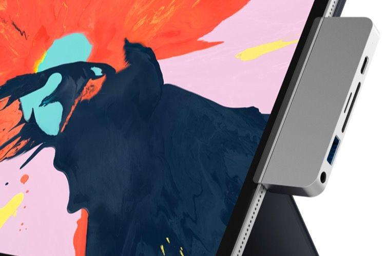 L'iPad Pro a son dock USB-C, l'HyperDrive aux 6prises